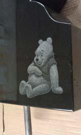 Winnie the Pooh Laser Etching
