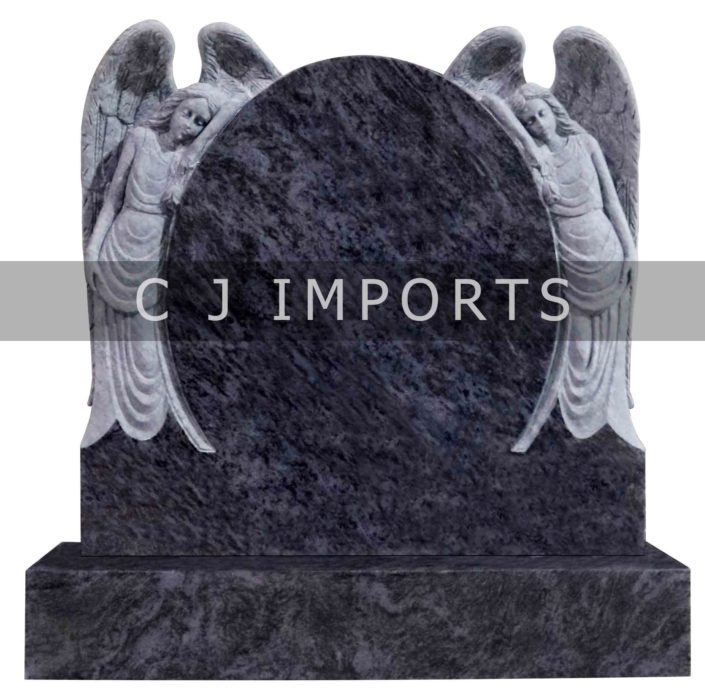 Double Angel Headstone Memorials